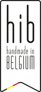 Handmade in Belgium label